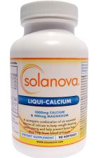 Calcium Supplement Softgels  - Bone Density & Blood Pressure Health