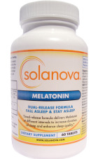 Dual-Release Melatonin Supplements | Natural supplement for a quality sleep